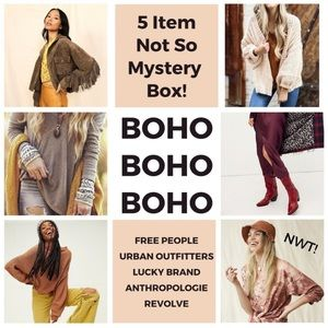BOHO MYSTERY BOX PERSONAL STYLING LUCKY ANTHROPO